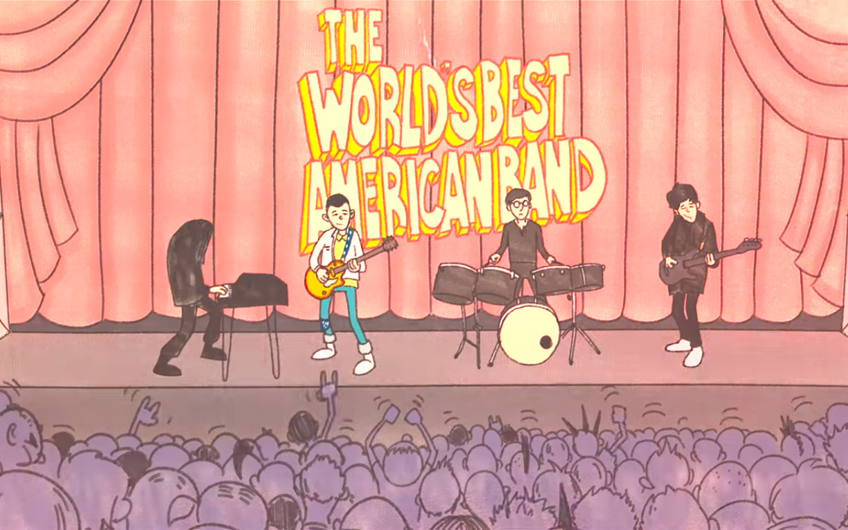"""White Reaper – """"The World's Best American Band"""""""