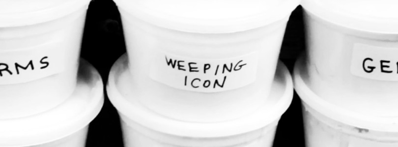 "Weeping Icon – ""Germs"""