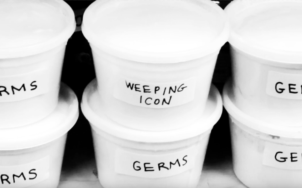 """Weeping Icon – """"Germs"""""""