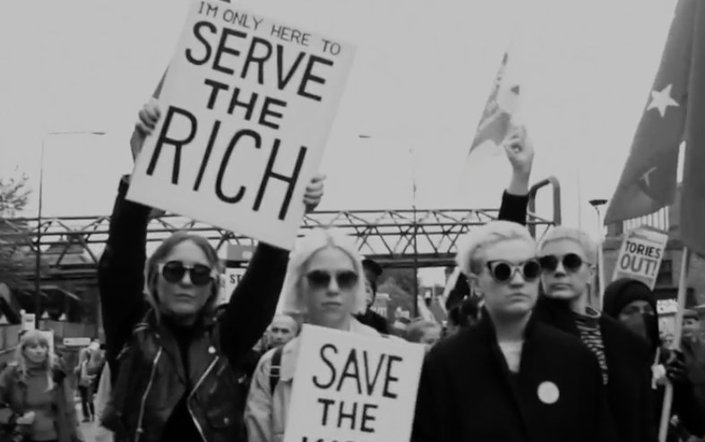 "PINS – ""Serve The Rich"""