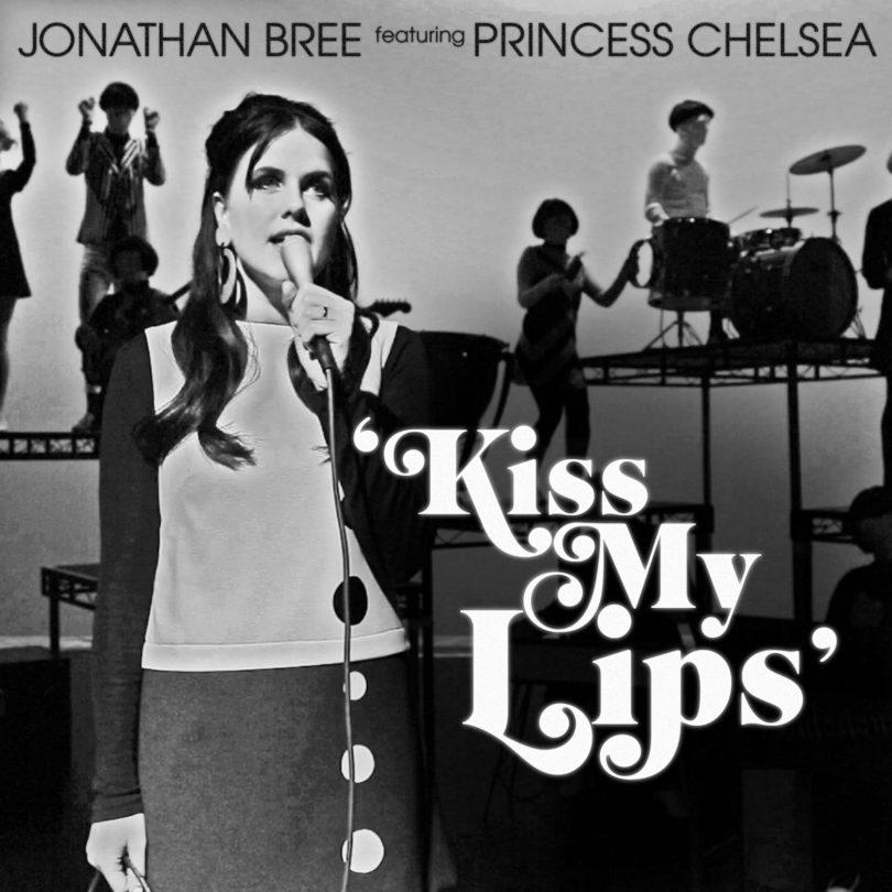"Jonathan Bree – ""Kiss My Lips (feat. Princess Chelsea)"""