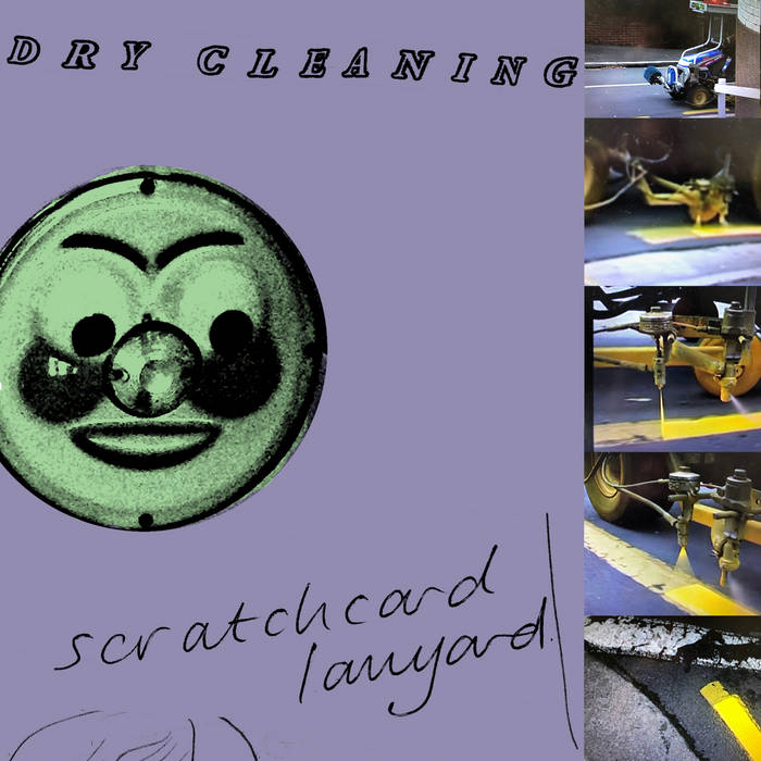 "Dry Cleaning – ""Scratchcard Lanyard"""